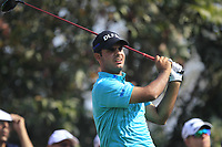 Shubhanker Sharma (IND) in action on the 4th during Round 4 of the Hero Indian Open at the DLF Golf and Country Club on Sunday 11th March 2018.<br /> Picture:  Thos Caffrey / www.golffile.ie<br /> <br /> All photo usage must carry mandatory copyright credit (&copy; Golffile | Thos Caffrey)