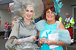 Enjoying Ladies Day at the Listowel Races on Friday were: Margaret O'Mahony and Marion Feelan