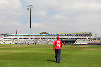 General view of play as Ashar Zaidi fields by the boundary during Warwickshire vs Essex Eagles, Royal London One-Day Cup Cricket at Edgbaston Stadium on 17th August 2016