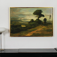 "Yaskulka: ""Overlook"", , Image Dims. 28"" x 42, Framed Dims. 30"" x 44"""