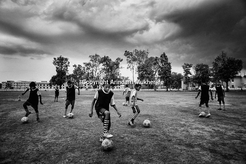 Soccer Academy at Naxal Belt