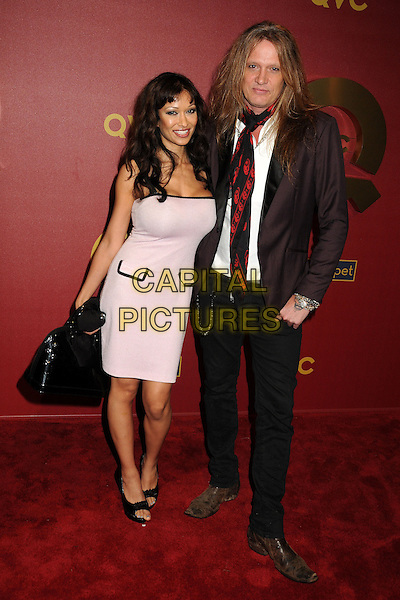 28 February 2014 - Los Angeles, California - Minnie Gupta, Sebastian Bach. QVC Presents Red Carpet Style held at the Four Seasons Hotel. <br /> CAP/ADM/BP<br /> &copy;Byron Purvis/AdMedia/Capital Pictures
