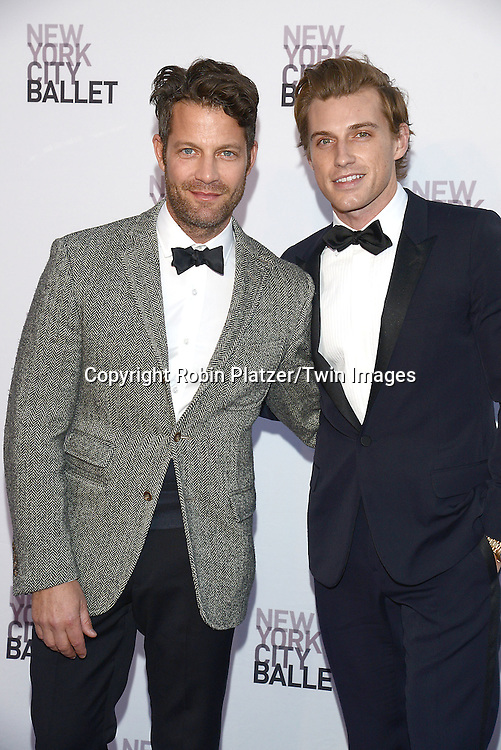 Nate Berkus and husband Jeremiah Brent attend the New York City Ballet's 3rd Annual  Fall Fashion Gala on September 23, 2014 at David Koch Theatre in Lincoln Center in New York City. <br /> <br /> photo by Robin Platzer/Twin Images<br />  <br /> phone number 212-935-0770
