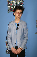 "LOS ANGELES - MAY 6:  Aidan Gallagher at the ""Everything, Everything"" Premiere on the TCL Chinese 6 Theater on May 6, 2017 in Los Angeles, CA"