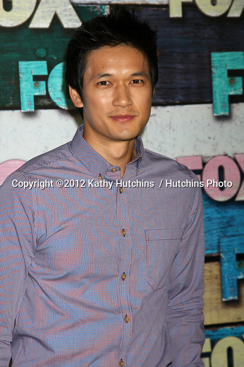 LOS ANGELES - JUL 23:  Harry Shum Jr. arrives at the FOX TCA Summer 2012 Party at Soho House on July 23, 2012 in West Hollywood, CA