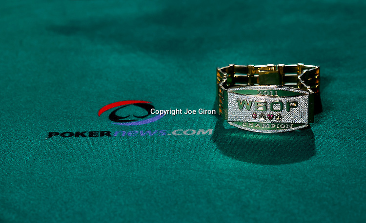 Main Event Champion Bracelet