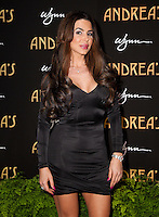 LAS VEGAS, NV - January 16 : Guest  pictured at the grand opening of Andrea's at Encore at Wynn Las Vegas in Las Vegas, Nevada on January 16, 2013. Credit: Kabik/Starlitepics/MediaPunch Inc. /NortePhoto