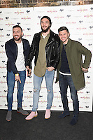 Robert Snodgrass, Andy Carroll and Aaron Cresswell<br /> arrives for the &quot;Iron Men&quot; premiere at the Mile End Genesis cinema, London.<br /> <br /> <br /> &copy;Ash Knotek  D3236  02/03/2017