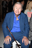 Sir Terence Conran<br /> at the Jasper Conran AW17 show as part of London Fashion Week AW17 at Claridges, London.<br /> <br /> <br /> &copy;Ash Knotek  D3230  17/02/2017