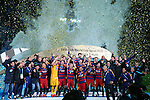 Barcelona team group, <br /> DECEMBER 20, 2015 - Football / Soccer : <br /> FIFA Club World Cup Japan 2015 <br /> award ceremony <br /> at Yokohama International Stadium in Kanagawa, Japan.<br /> (Photo by Yohei Osada/AFLO SPORT)
