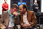 6.10.2013, Berlin, Amano Rooftop Conference Center. High-Tech Forum Berlin. Sergej Tcherniak (links) und Alberto Benbunan (rechts)