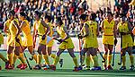 UTRECHT - line up China voor   de Pro League hockeywedstrijd wedstrijd , Nederland-China (6-0) .  COPYRIGHT  KOEN SUYK