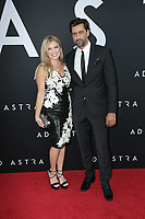 """LOS ANGELES - SEP 18:  Rosi Keshawarz, Donnie Keshawarz at the """"Ad Astra"""" LA Premiere at the Arclight Hollywood on September 18, 2019 in Los Angeles, CA"""