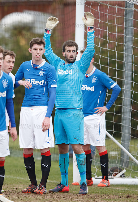 Rangers keeper Cammy Bell makes his return to action after 7 months sidelined by a shoulder injury as the u20s take on Inverness at Murray Park