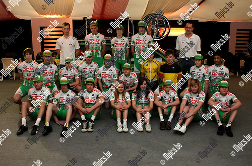 2009-02-07 / Wielrennen / DGR cycling team Vorselaar 2009 / Nieuwelingen..Foto: Maarten Straetemans (SMB)
