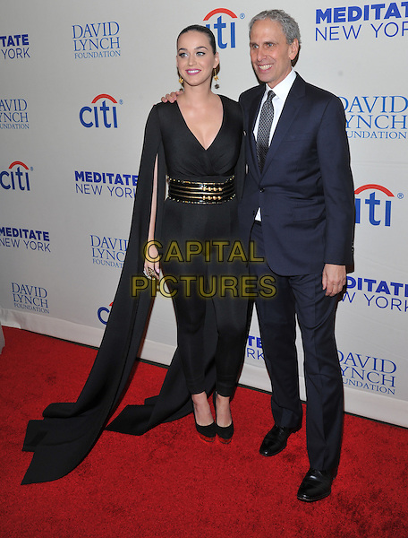 New York,NY-November 4: Katy Perry, Bob Roth attends the 2015 Change Begins Within Benefit Gala at Carnegie Hall on November 4, 2015 in New York City . <br /> CAP/MPI/STV<br /> &copy;STV/MPI/Capital Pictures
