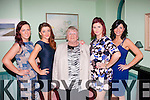 Gaa Fashion<br /> ---------------<br /> Enjoying the Ballyheigue GAA social in the White Sands hotel in the Village last Saturday night were L-R Ann &Oacute; Fuarin,Susan Horgan,Eileen Cahill,Elaine O'Donoghue and Sharon Lucid.