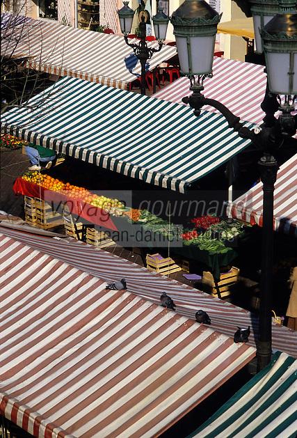 France/06/Alpes-Maritimes/Nice: Marché cours Saleya