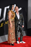 LOS ANGELES, CA. February 05, 2019: Dua Lipa &amp; Tom Holkenborg &amp; Junkie XL at the premiere for &quot;Alita: Battle Angel&quot; at the Regency Village Theatre, Westwood.<br /> Picture: Paul Smith/Featureflash