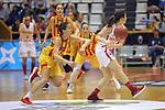 Catalunya vs Montenegro: 83-57.<br /> Queralt Casas vs Sofija Zivaljevic.