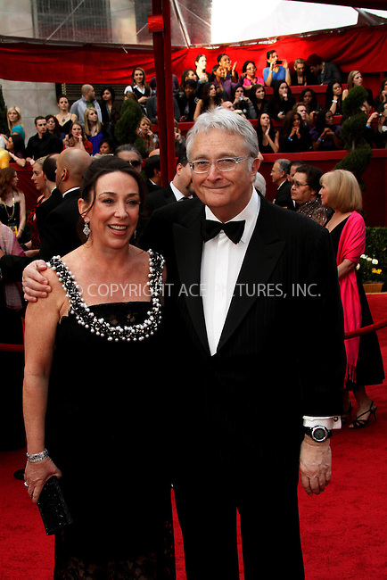 WWW.ACEPIXS.COM . . . . .  ....March 7 2010, Hollywood, CA....Musician Randy Newman and wife Gretchen at the 82nd Annual Academy Awards held at Kodak Theatre on March 7, 2010 in Hollywood, California.....Please byline: Z10-ACE PICTURES... . . . .  ....Ace Pictures, Inc:  ..Tel: (212) 243-8787..e-mail: info@acepixs.com..web: http://www.acepixs.com