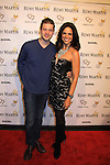 """Actor Brandon Ruckdashel poses with CNN's Soledad O'Brien (co-mistress of ceremonies) at Hearts of Gold's 16th Annual Fall Fundraising Gala & Fashion Show """"Come to the Cabaret"""", a benefit gala for Hearts of Gold on November 16, 2012 at the Metropolitan Pavilion, New York City, New York.   (Photo by Sue Coflin/Max Photos)"""
