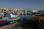 The fishing harbour of Arguineguin, Gran Canaria, Canary Islands.