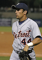 March 29, 2004:  Andres Torres of the Detroit Tigers organization during Spring Training at Bright House Networks Field in Clearwater, FL.  Photo copyright Mike Janes/Four Seam Images