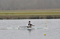 068 Coalporters J18A.1x..Marlow Regatta Committee Thames Valley Trial Head. 1900m at Dorney Lake/Eton College Rowing Centre, Dorney, Buckinghamshire. Sunday 29 January 2012. Run over three divisions.