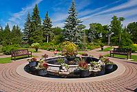 English Gardens. Assiniboine Park<br />Winnipeg<br />Manitoba<br />Canada