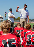Palos Verdes, CA 03/26/16 - San Clemente Coaches Chris Malone and Brad Reppert