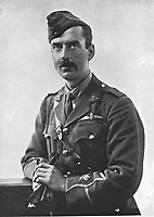 BNPS.co.uk (01202 558833)<br /> Pic: Rowley's/BNPS<br /> <br /> PICTURED: Lieutenant Eric Waters<br /> <br /> A pocket watch found on the body of a tragic World War One pilot who has shot and killed has emerged for sale.<br /> <br /> Lieutenant Eric Waters, of 6 Squadron, had been flying over Belgium in 1917 when he perished in a dogfight aged 30.<br /> <br /> The doomed mission has become famous because of the subsequent derring-do of his gunner-observer, Sergeant Fred Slingby.<br /> <br /> Sgt Slingby has been sitting in front of him with no parachute, heading for the ground.