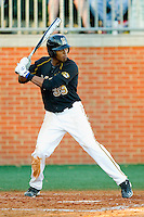 Blake Brown #39 of the Missouri Tigers at bat against the Charlotte 49ers at Robert and Mariam Hayes Stadium on February 25, 2011 in Charlotte, North Carolina.  Photo by Brian Westerholt / Four Seam Images
