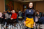 Aoife Roche (Host Speaker) at the Aoife Roche Wellness Free Workshop in the Rose Hotel on Saturday.