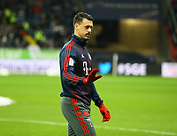 Sandro Wagner (FC Bayern Muenchen) - 22.12.2018: Eintracht Frankfurt vs. FC Bayern München, Commerzbank Arena, DISCLAIMER: DFL regulations prohibit any use of photographs as image sequences and/or quasi-video.