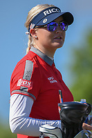 Charley Hull (ENG) looks over her tee shot on 3 during round 1 of the 2018 KPMG Women's PGA Championship, Kemper Lakes Golf Club, at Kildeer, Illinois, USA. 6/28/2018.<br /> Picture: Golffile | Ken Murray<br /> <br /> All photo usage must carry mandatory copyright credit (&copy; Golffile | Ken Murray)