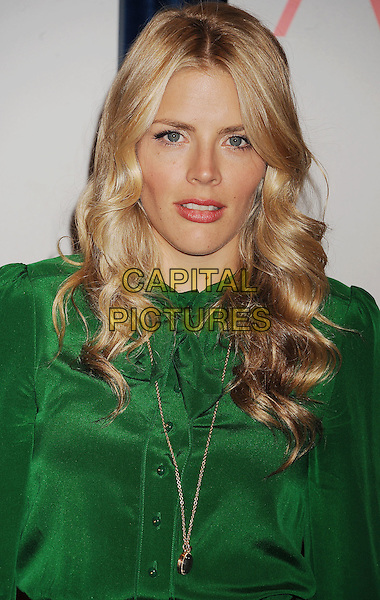 Busy Philipps.People's Choice Awards 2012 Nominees Announcement Held At The Paley Center for Media, Beverly Hills, California, USA..November 8th, 2011.headshot portrait green gold necklace .CAP/ROT/TM.© TM/Roth/Capital Pictures