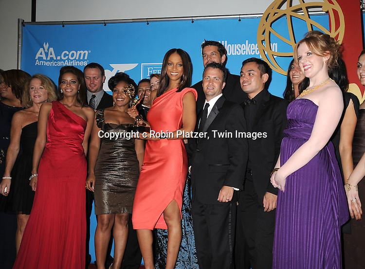 Tyra Banks and crew winners