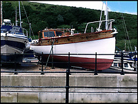 BNPS.co.uk (01202 558833)<br /> Pic: MarkBrooking/BNPS<br /> <br /> Chance to buy your own little bit of British maritime history.<br /> <br /> One of the famous 'little ships' used to evacuate British soldiers at Dunkirk has emerged for sale.<br /> <br /> The sailing boat 'Seamew' was requisitioned for Operation Dynamo during which over 330,000 men were evacuated from the beaches of France during World War Two.<br /> <br /> Engineer Mark Brooking purchased the boat from an elderly man in Peel, the Isle of Man, 18 months ago and towed it to the mainland before transporting it by land to Plymouth, Devon.<br /> <br /> He has since restored it and has put it on the market for &pound;35,000.<br /> <br /> Seamew belongs to the National Historic Ship register and comes with a special Dunkirk flag bestowed to the 'little ships' who took part in the evacuation.