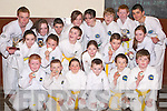 CHAMPS: Some of the students of the Kingdom Tae Kwon Do club in Listowel who returned from the Cork Open Championships this week with over 20 medals.   Copyright Kerry's Eye 2008
