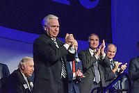Thomas A. Beckett. Yale Athletics Blue Leadership Ball & George H.W. Bush '48 Lifetime of Leadership Awards. 20 November 2015 at the William K. Lanman Center, Payne Whitney Gymnasium, Yale University.