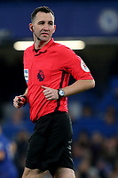 Match Referee, Mr Christopher Kavanagh during Chelsea vs Newcastle United, Premier League Football at Stamford Bridge on 12th January 2019