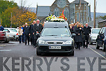 A guard of honour for the late Patsy Cronin was held at his funeral in Killorglin on Monday by, Members of Laune Rangers Football Club /Killorglin Golf Club and Killorglin Arkives.