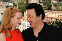 """Nicole Kidman, John Cusack - """" Paperboy """" photocall at the 65th Cannes Film Festival at the Palais des Festivals..May 24th, 2012."""