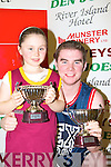 Neil Sullivan Castleisland with his niece Nicole Dowling celebrating them both winning the MVP in their divisions