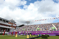 Olympics - London 2012 Olympic Games - Lord's Cricket Ground   - 29/7/12..Archery - Women's Team - General view of a match between Great Britain and Russia..Mandatory Credit: Action Images / Matthew Childs..Livepic