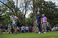 Tyrrell Hatton (ENG) and Charles Howell III (USA) head down 16 during round 3 of the World Golf Championships, Mexico, Club De Golf Chapultepec, Mexico City, Mexico. 2/23/2019.<br /> Picture: Golffile | Ken Murray<br /> <br /> <br /> All photo usage must carry mandatory copyright credit (© Golffile | Ken Murray)