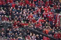 SPEEDSKATING: HAMAR: Vikingskipet, 28-02-2020, ISU World Speed Skating Championships,  Norwegian fans, ©photo Martin de Jong