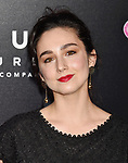 LOS ANGELES, CA - APRIL 18: Actress Molly Ephraim attends the Premiere Of Focus Features' 'Tully' at Regal LA Live Stadium 14 on April 18, 2018 in Los Angeles, California.