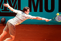 Milos Raonic, Canada, during Madrid Open Tennis 2018 match. May 10, 2018.(ALTERPHOTOS/Acero) /NORTEPHOTOMEXICO